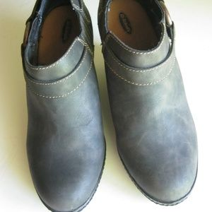 Dr. Scholls Women's Gray Ankle Boots Shoes -  EUC